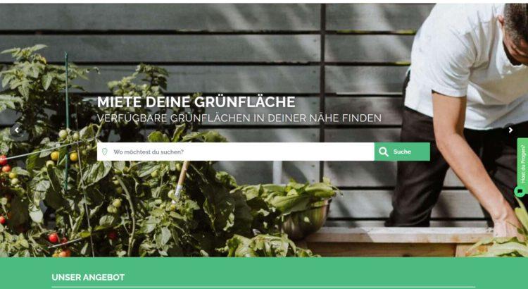 Garten für Feste online mieten
